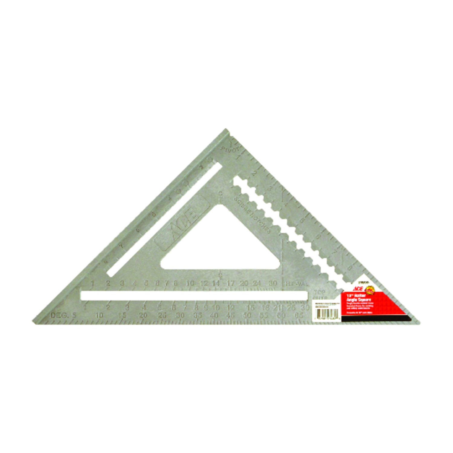 Ace  12  L x 17 in. H Rafter Square  Orange  Polystyrene