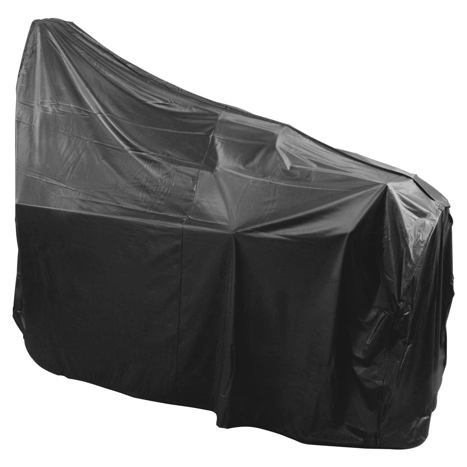 Char-Broil  Black  Grill Cover  72 in. W x 23 in. D x 44 in. H For Fits Most Larger Cart Style Grill