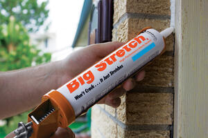 Big Stretch  Big Stretch  Gray  Acrylic  Caulk  10.5 oz.