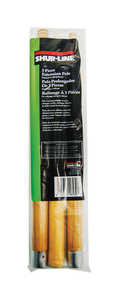 Shur-Line  40 in. L x 1 in. Dia. Wood  Extension Pole  Brown