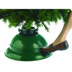 Dyno  Polymer  Green  10 ft. Maximum Tree Height Christmas Tree Stand
