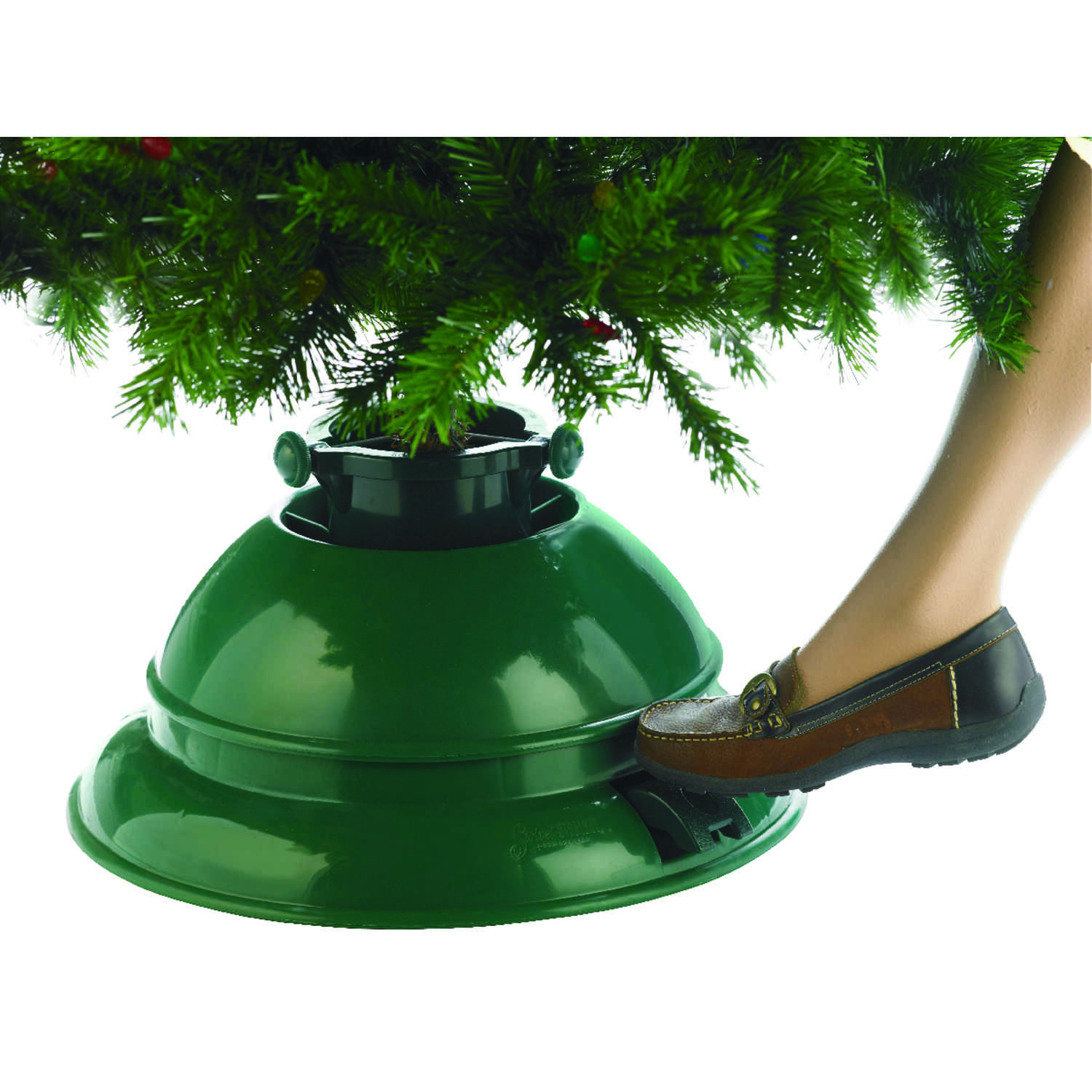 Dyno  Polymer  Swivel Action Tree Stand  10 ft. Maximum Tree Height