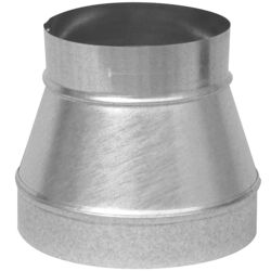 Imperial  10 in. Dia. x 8 in. Dia. Galvanized Steel  Furance Reducer and Increaser