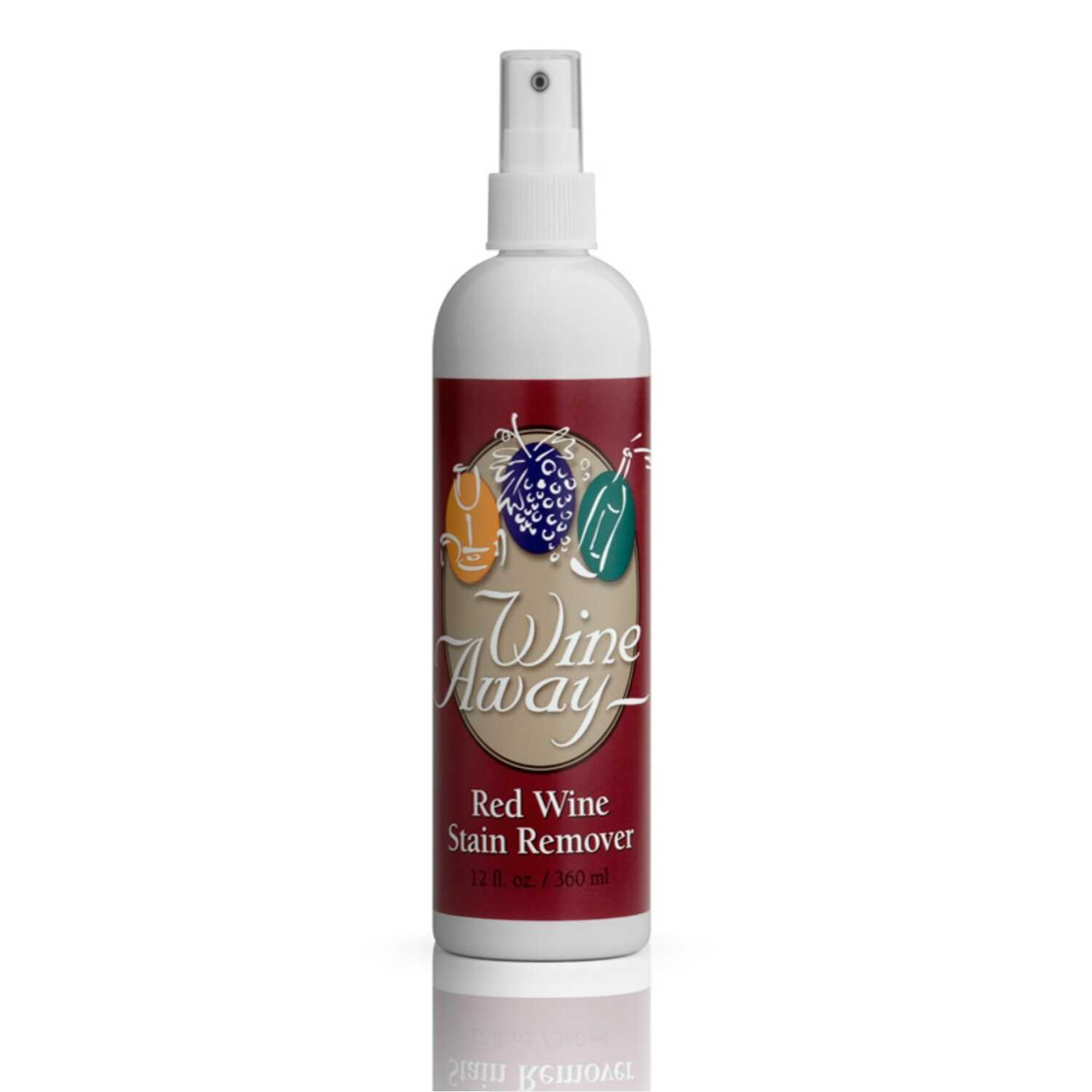 Wine Away Citrus Scent Red Wine Stain Remover Liquid 12 Oz Ace