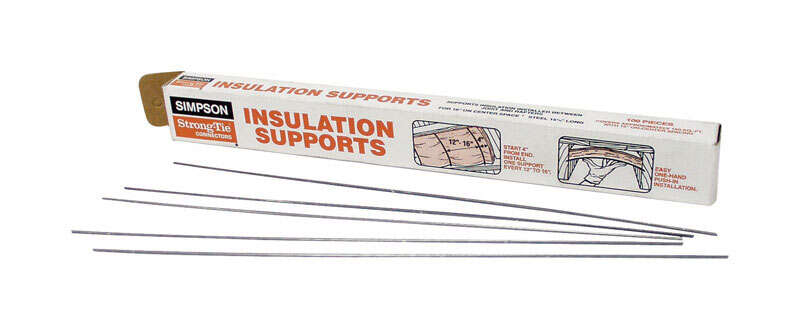 Simpson Strong-Tie  15.5 in. H x 0.08 in. W 14 Ga. Steel  Insulation Support