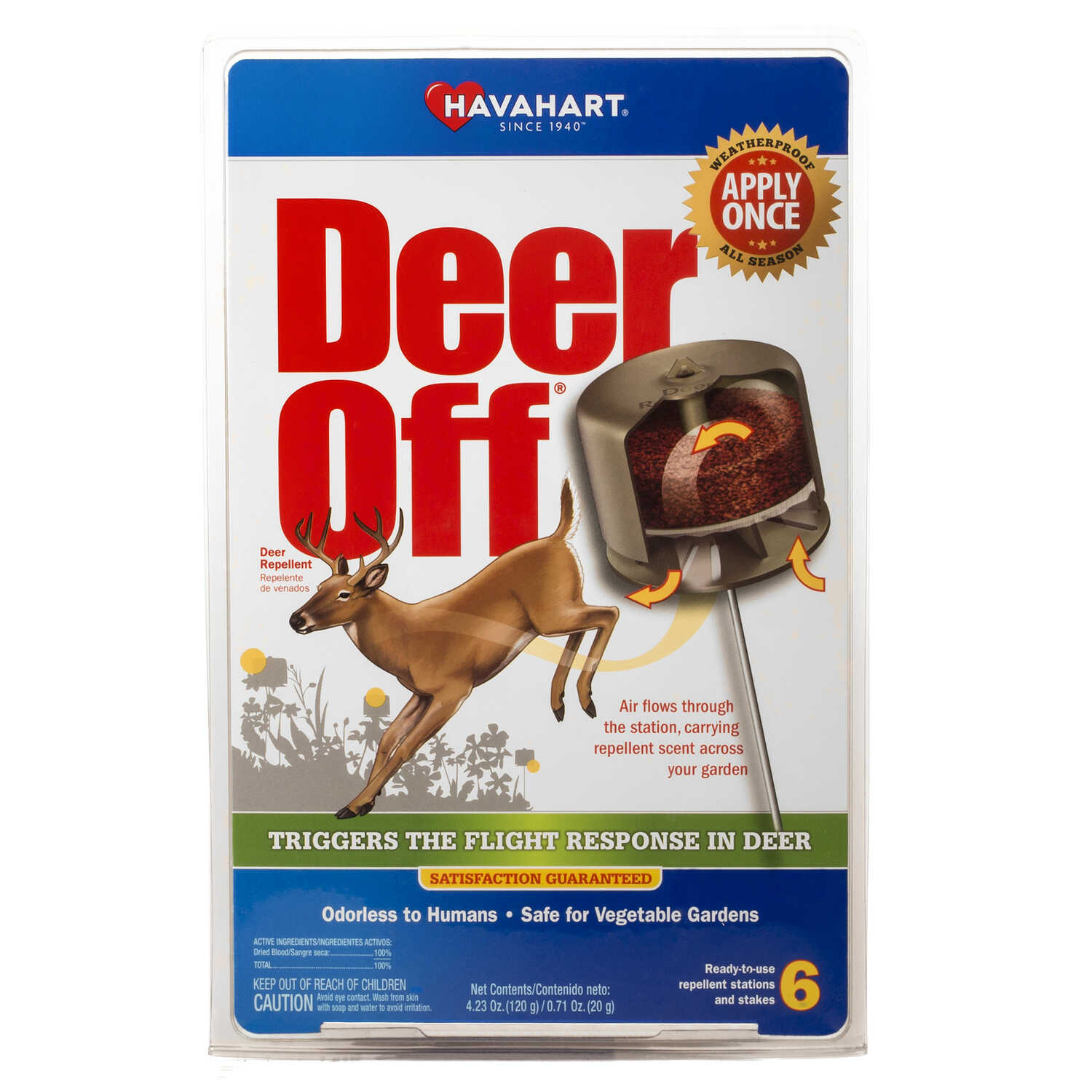 Havahart  Deer off  For Deer Animal Repellent