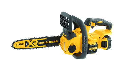 DeWalt XR 12 in. 20 volt Battery Chainsaw Kit (Battery & Charger)