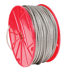 Campbell Chain  Electro-Polish  Stainless Steel  1/16 in. Dia. x 250 ft. L Cable