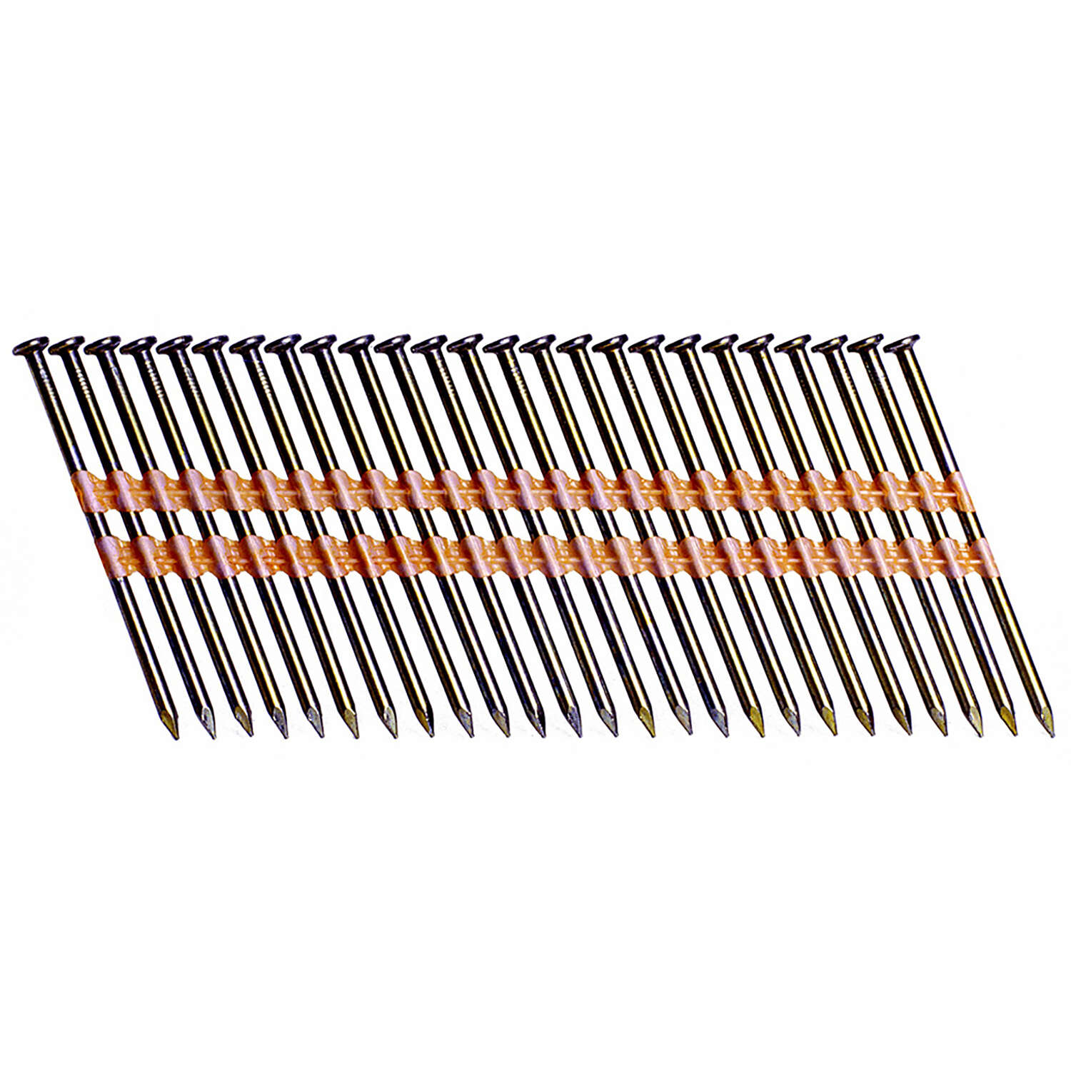 Grip-Rite  2-3/8 in. Angled Strip  Framing Nails  21 deg. Smooth Shank  5000 pk