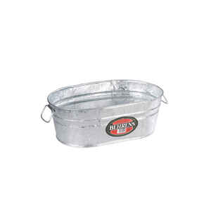 Behrens  2 gal. Steel  Tub  Oval