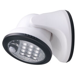 Fulcrum  LIGHT IT  White  Motion-Sensing  Sensor Light