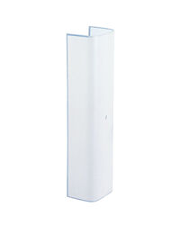 Westinghouse Rectangle White Glass Fan/Fixture Shade 1 pk