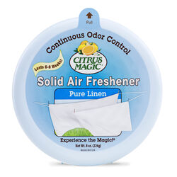 Citrus Magic Linen Scent Air Freshener 8 oz. Solid