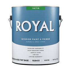 Royal Satin Tint Base Mid-Tone Base Paint Interior 1 gal.