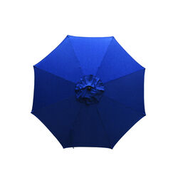 Living Accents 9 Tiltable Navy Market Umbrella