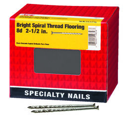 Ace  8D  2-1/2 in. Flooring  Bright  Nail  Countersunk  5 lb.