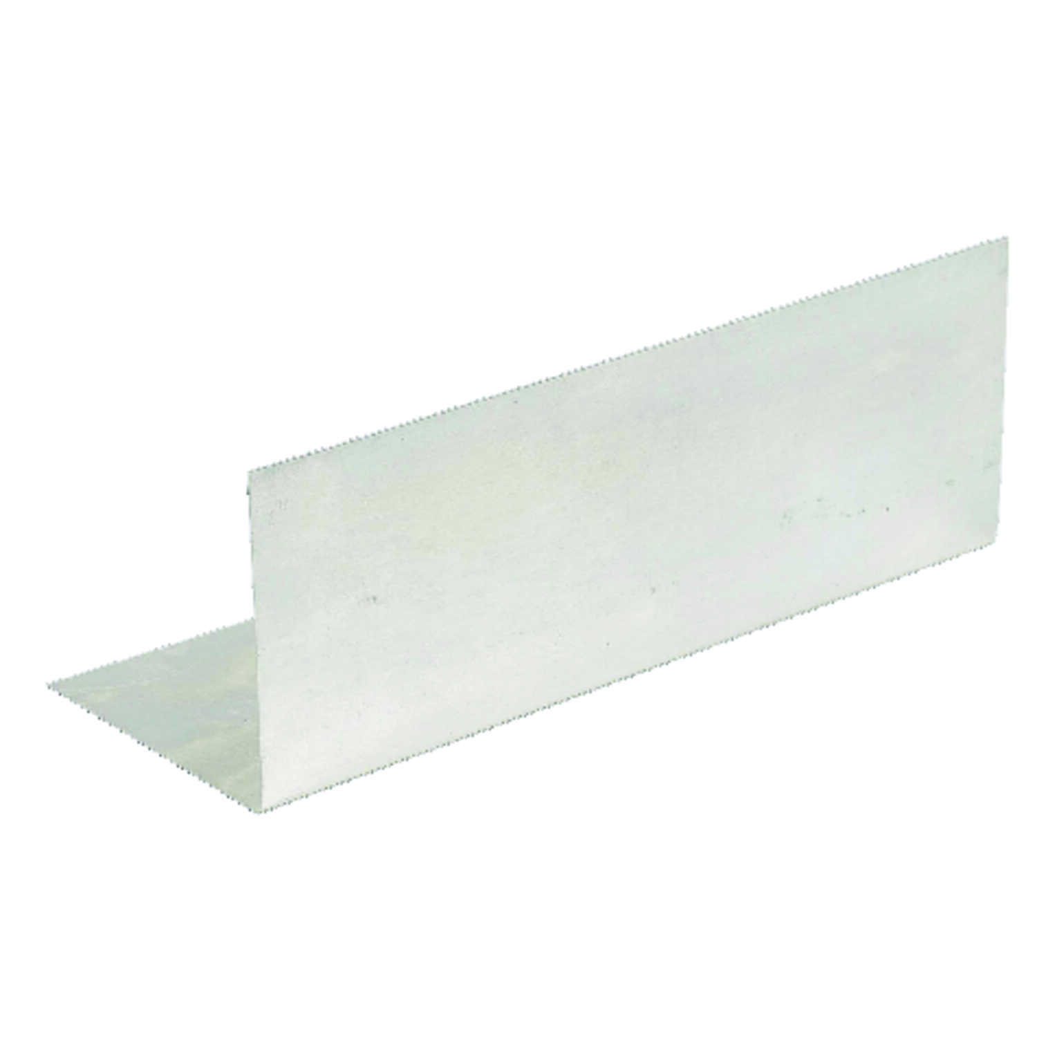 Amerimax  2.5 in. W x 7 in. L Galvanized Steel  Pre-Bent Step Flashing  Silver