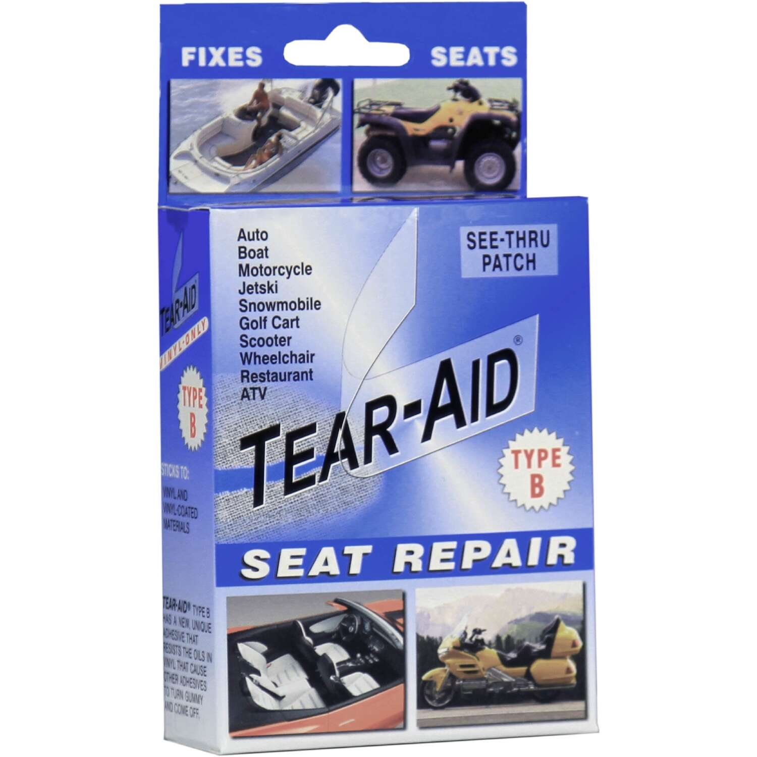 Tear-Aid Patch Type B Seat Repair Patch Kit