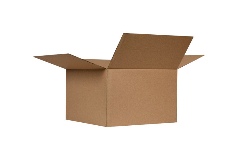 Ace  12 in. H x 14 in. L x 24 in. W Cardboard  1 pk Corrgugated Box