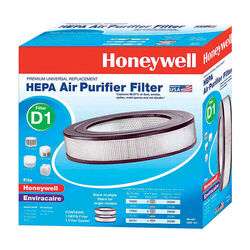 Honeywell  Hepaclean  4.3 in. H x 11.2 in. W Round  HEPA Air Purifier Filter