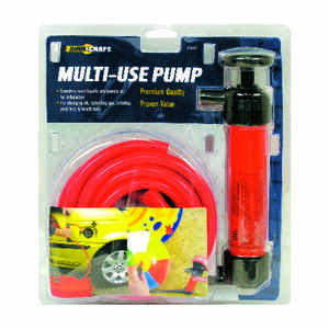 Custom Accessories  Multicolored  Plastic  Siphon Pump
