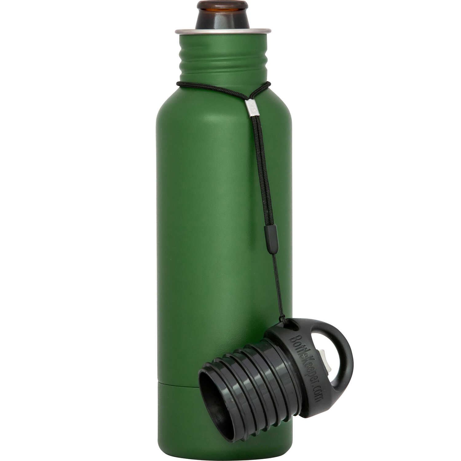 BottleKeeper  The Standard 2.0  Insulated Bottle Koozie  12 oz. Green  1 pk
