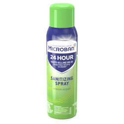 Microban Fresh Scent Sanitizer and Deodorizer 15 oz. 1 pk