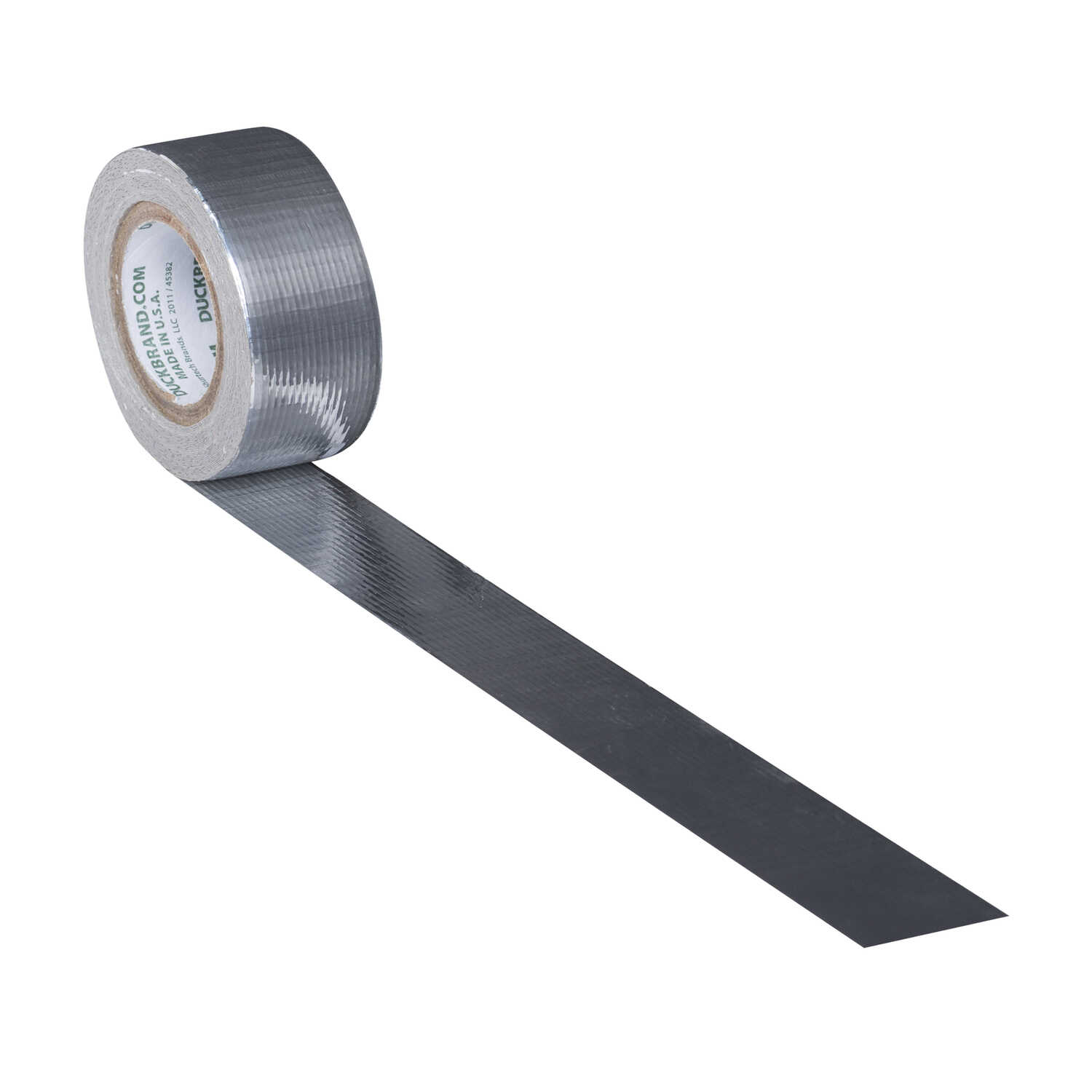 Duck  0.75 in. W x 180 in. L Chrome  Solid  Duct Tape
