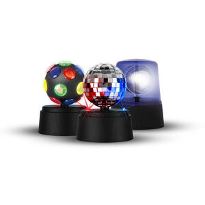 Sharper Image  Party  Novelty Lights  Plastic  3 pk
