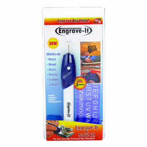 Engrave-It Pro  Cordless  Engraver  11.5 in. 1 pc.