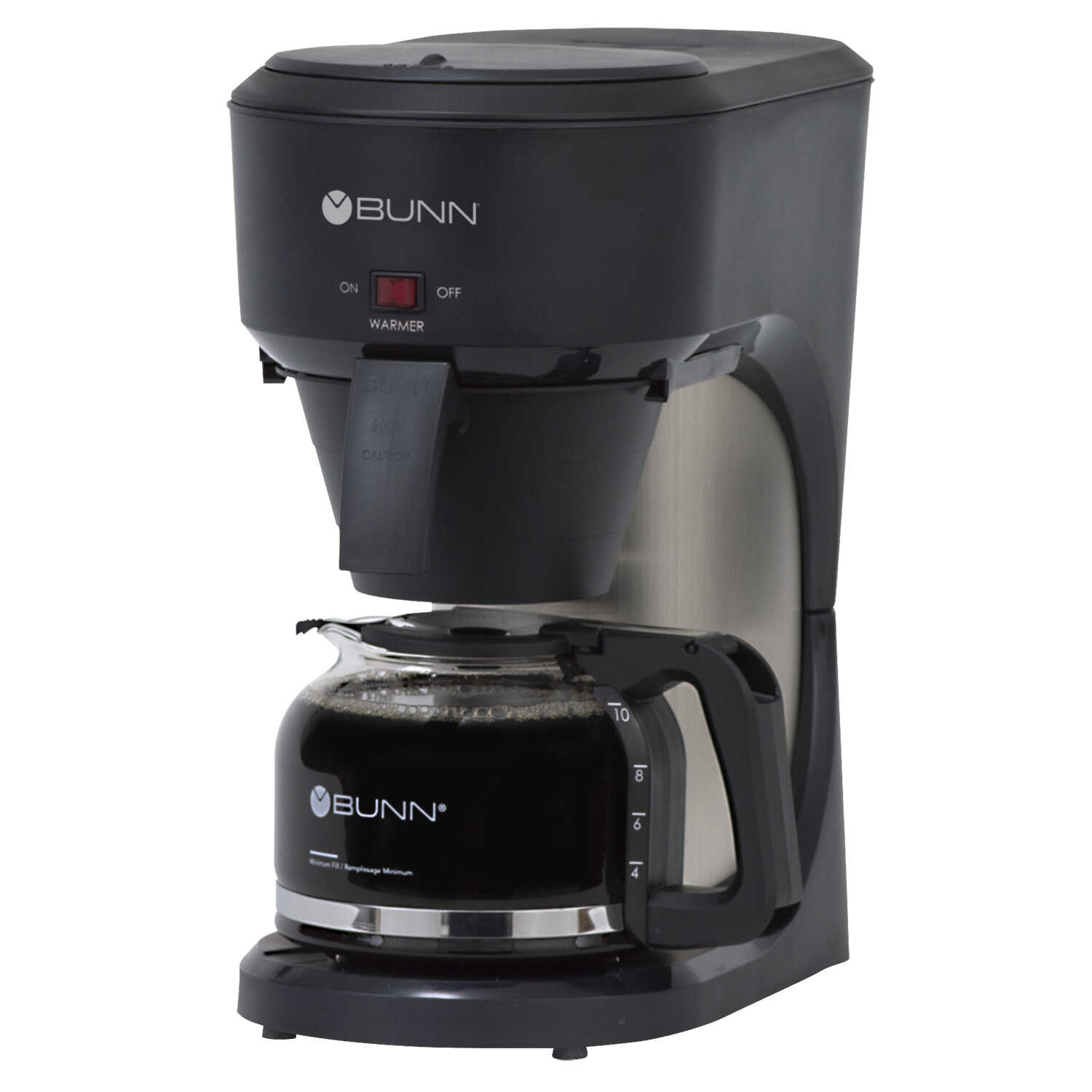 BUNN  SpeedBrew  10 cups Black  Coffee Maker