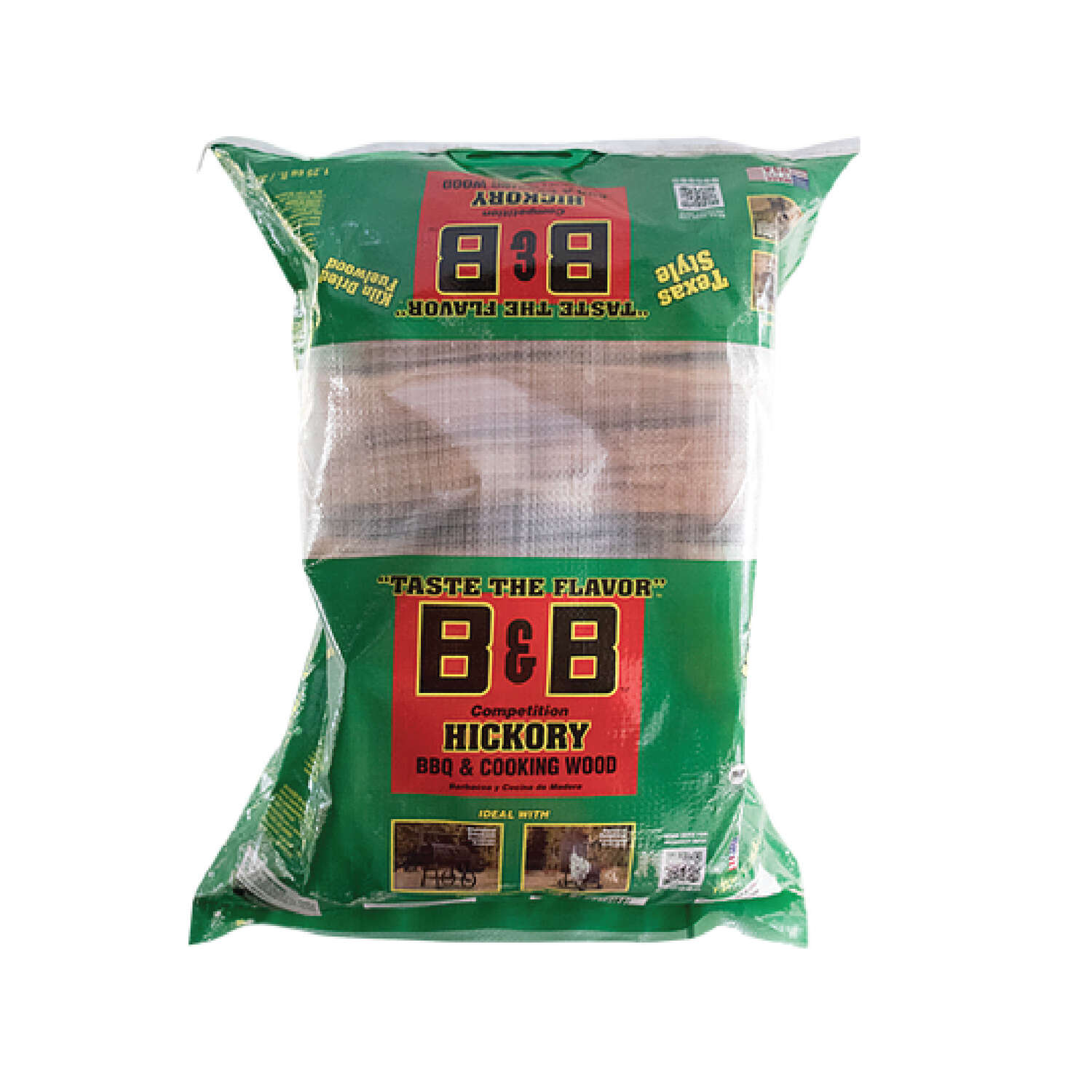 B&B  Hickory  Cooking Logs  1.25 cu. ft.