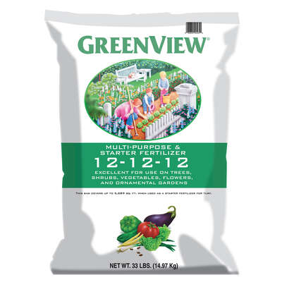 GreenView  12-12-12  Starter Fertilizer  33 lb.