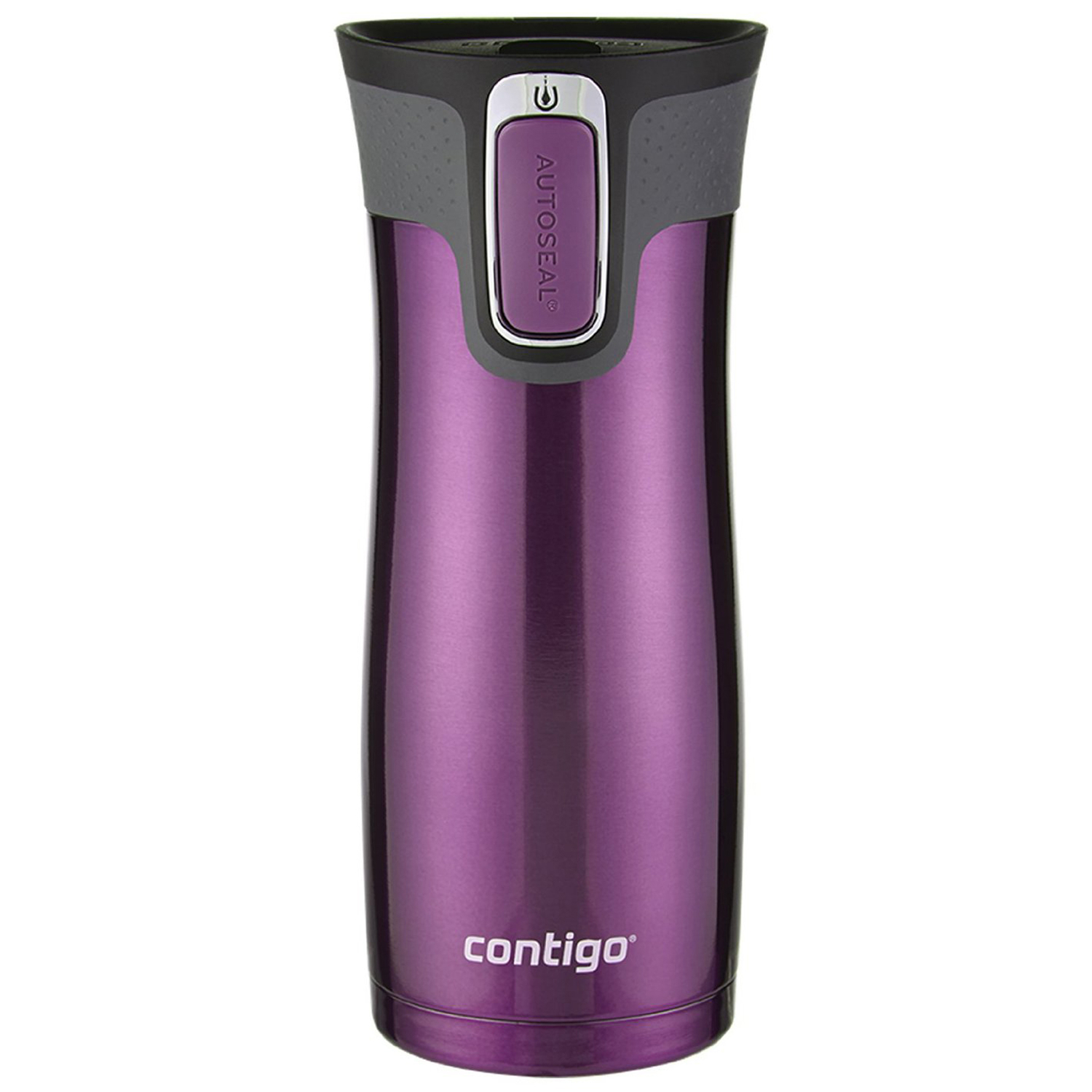 Contigo  Autoseal West Loop  Radiant Orchid  Stainless Steel  Tumbler  Travel Mug  16 oz. BPA Free