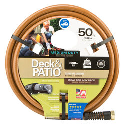 Swan Deck and Patio 5/8 in. Dia. x 50 ft. L Premium Grade Brown Hose