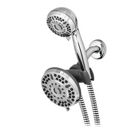 Waterpik  PowerPulse Massge  Chrome  6 settings Showerhead Combo  1.8 gpm