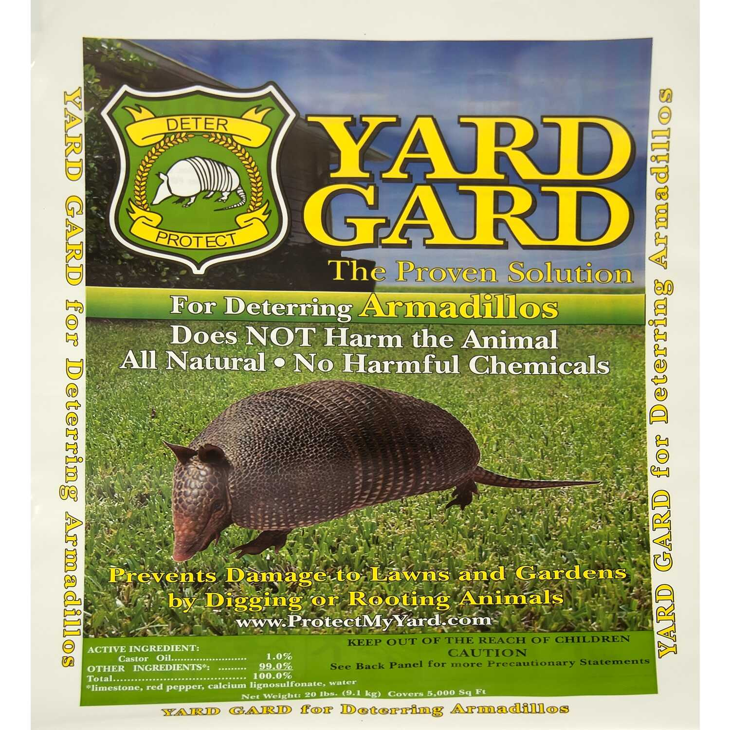 Yard Gard  For Armadillos Animal Repellent  20 lb.