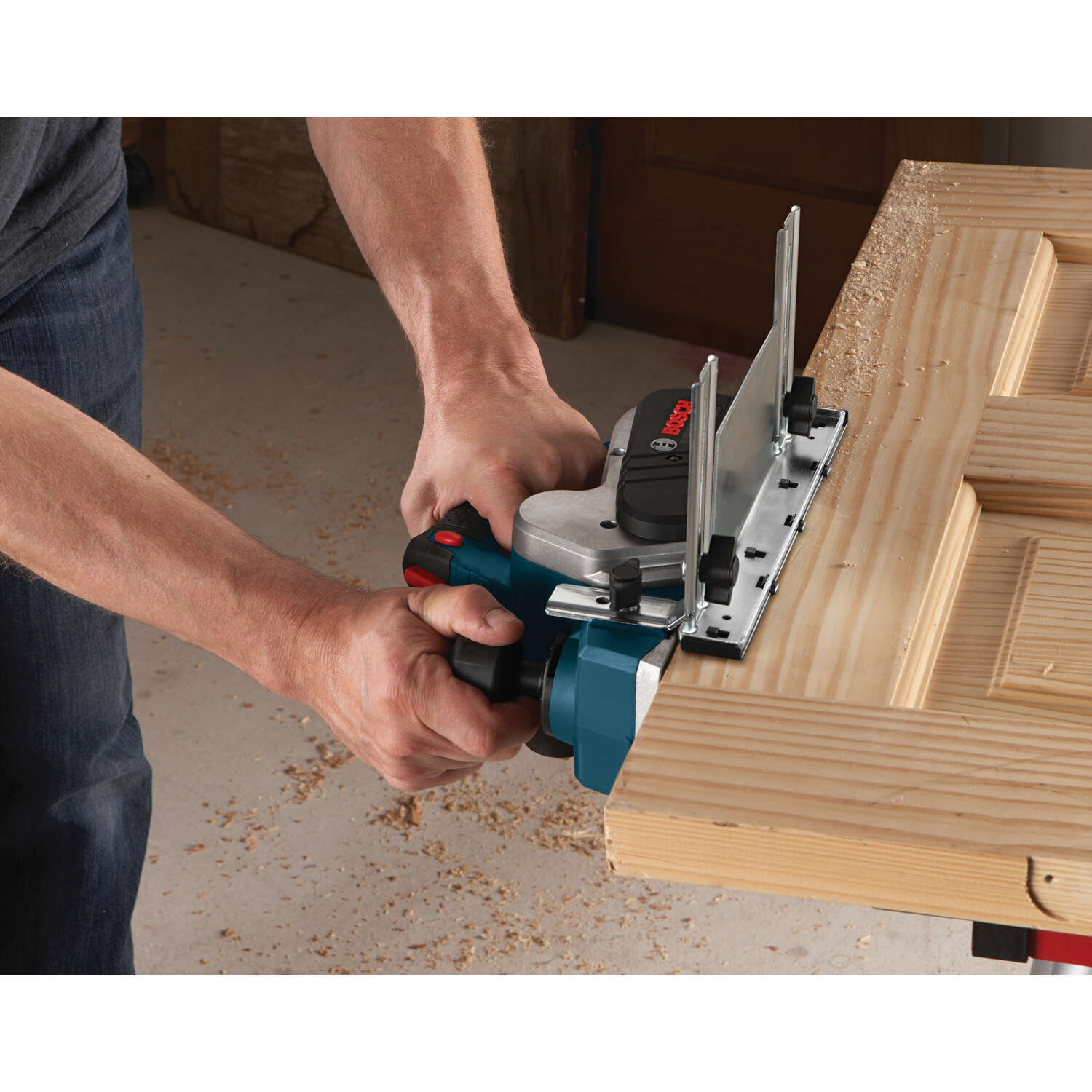 Bosch  1/8 in. D Corded  Planer  3.25 in. 1 blade 120 volts