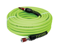 Flexzilla  50 ft. L x 3/8 in. Dia. Pro  Hybrid Polymer  Air Hose Kit  300 psi Green
