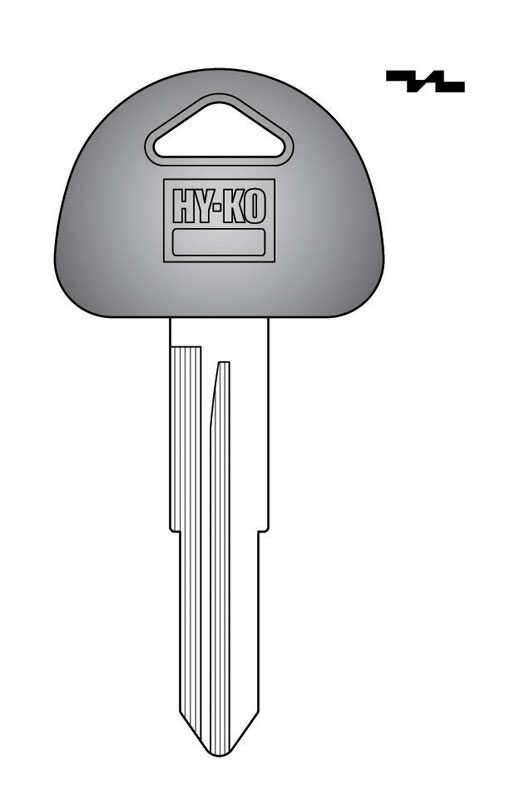 Hy-Ko  Automotive  Key Blank  EZ# SUZ17  Double sided For Fits Many 2002 And Older Ignitions
