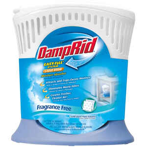 DampRid  20.8 oz. No Scent Refillable Moisture Absorber  Easy Fill System Large Room