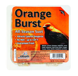 Heath  Orange Burst  Songbird  Suet  Beef Suet  11.25 oz.