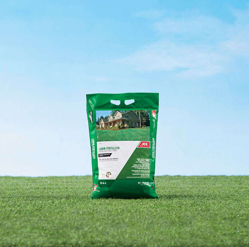 Ace  29-0-4  Lawn Fertilizer  For All Grass Types