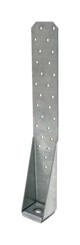 Simpson Strong-Tie  2.44 in. H x 2.22 in. W 11 Ga. Galvanized Steel  Tension Tie
