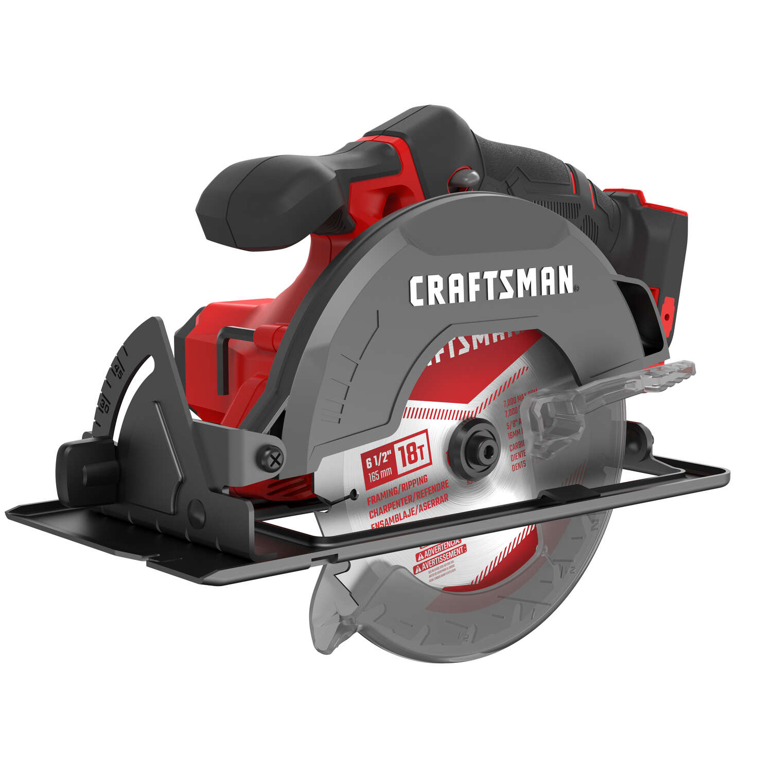 Craftsman  20 volt 6-1/2 in. Cordless  Circular Saw  Tool Only
