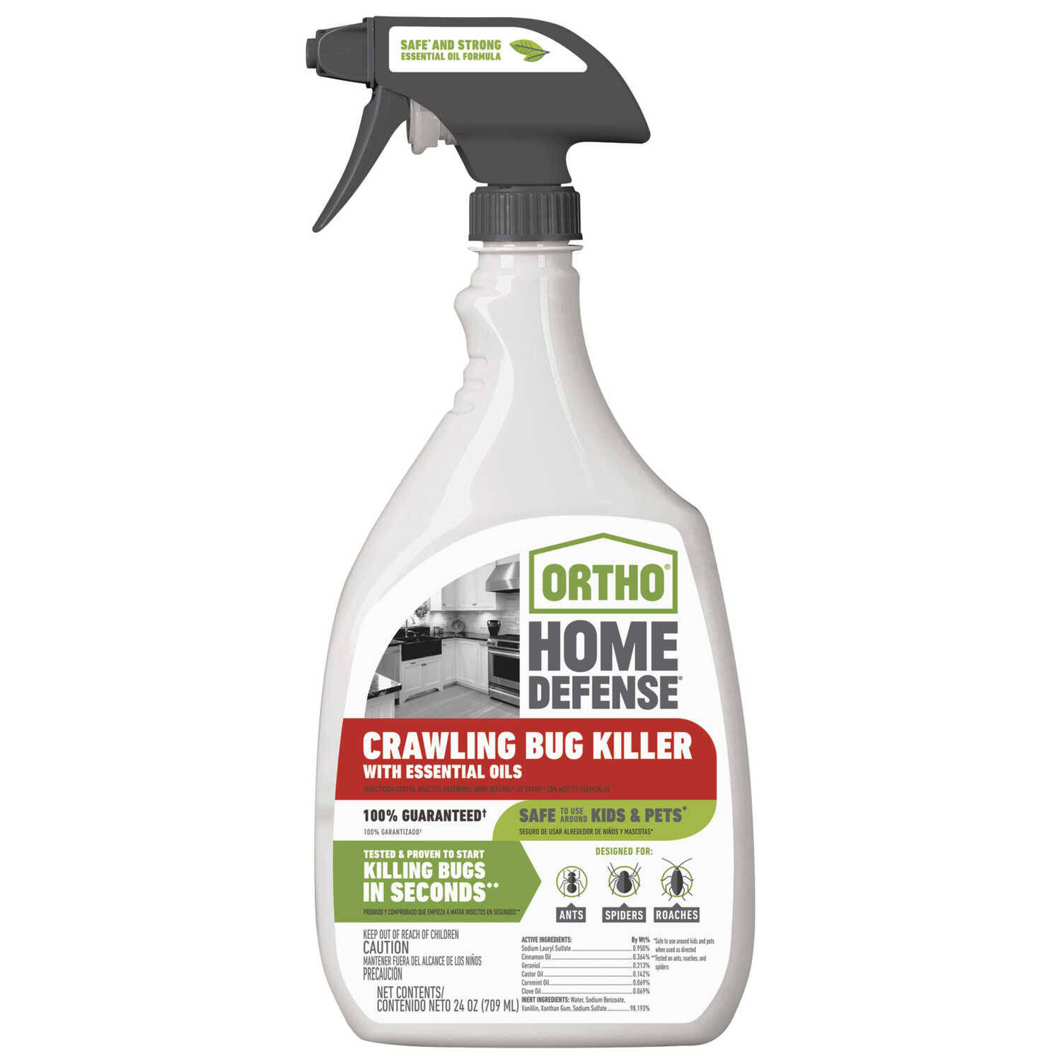 Ortho  Home Defense  Organic Crawling Insect Killer  20 oz.