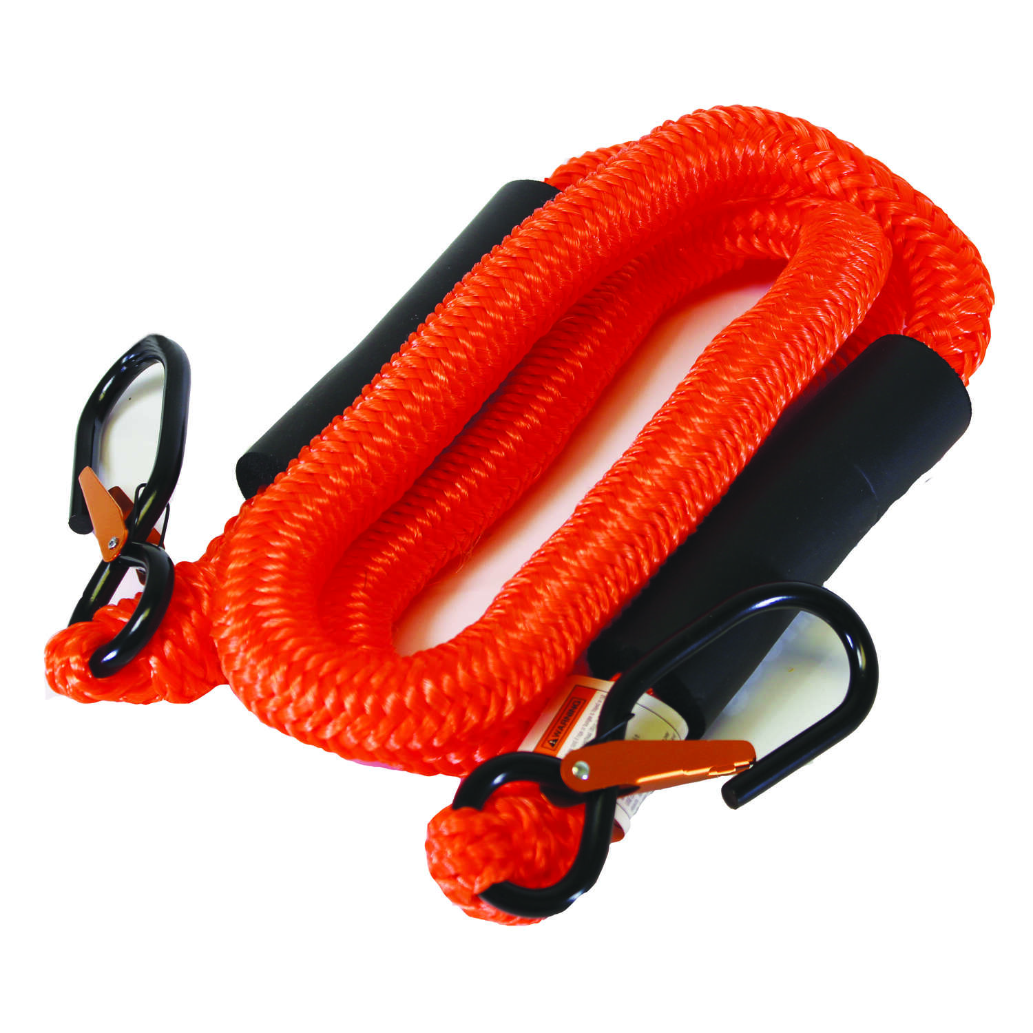 Cordzilla  Secureline  Orange  Bungee Cord  5 ft. 8 mm 400 lb. 1 pk