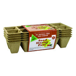 Plantation Products  Plant Pot Seed Starter  5 pk