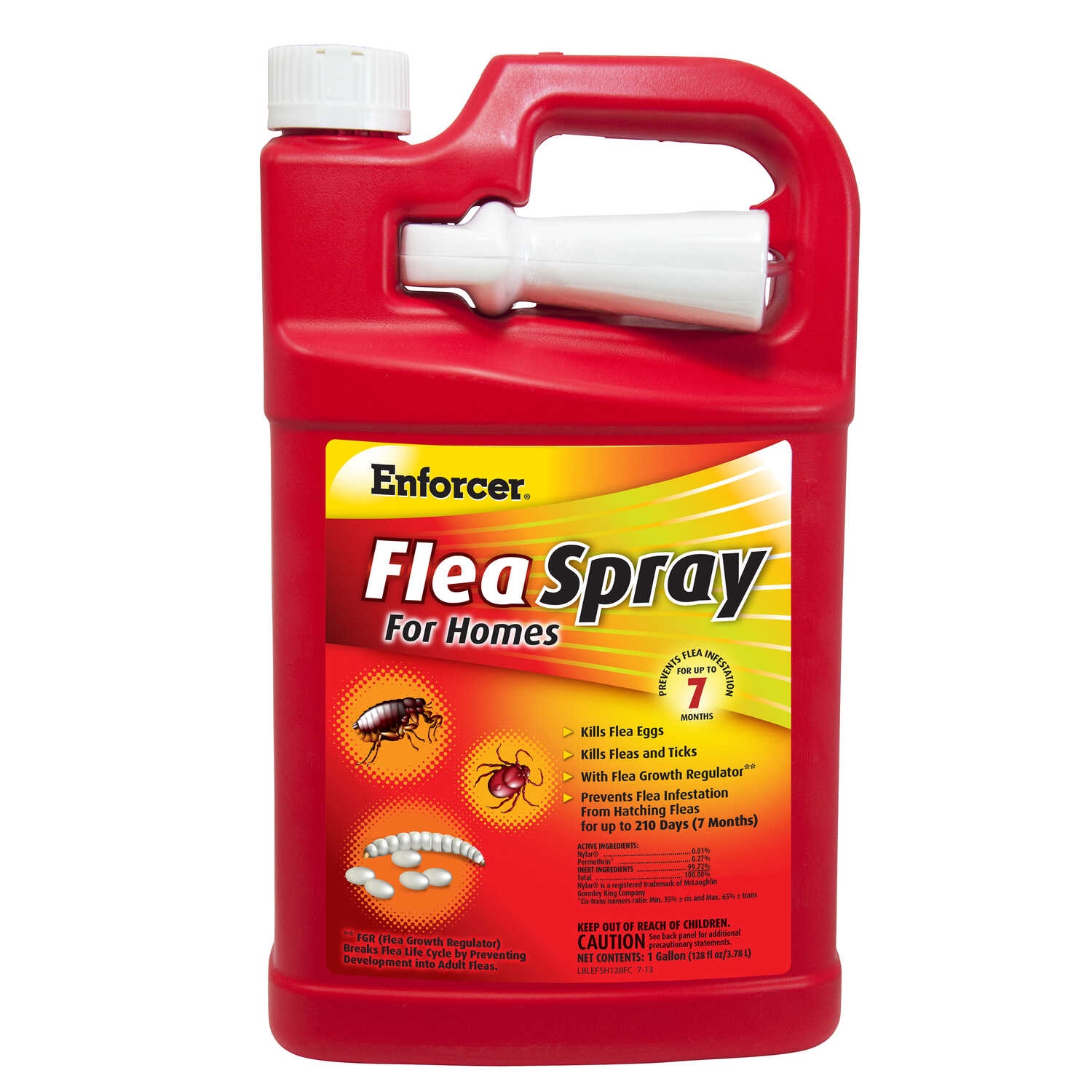 Enforcer  Flea Spray for Homes  Insect Killer  1 oz.