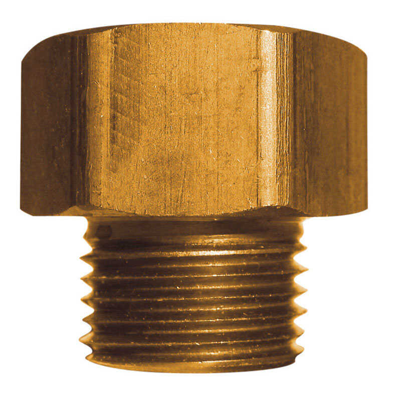 JMF  Brass  Adapter  3/4 in. Dia. x 3/4 in. Dia. Yellow  1 pk